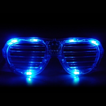 Blue LED Shutter Glasses