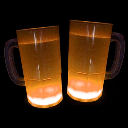 Cool Glow Mugs 12oz. Orange (15 per Pack!)