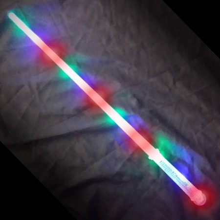 "28"" Flashing Sword with Clear Handle"