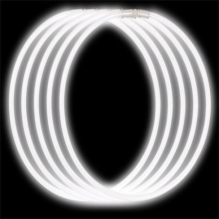 Economy Glow Necklace - White (50-Pack)