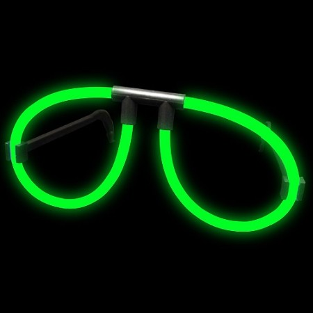 Green Glow Glasses (Singles)