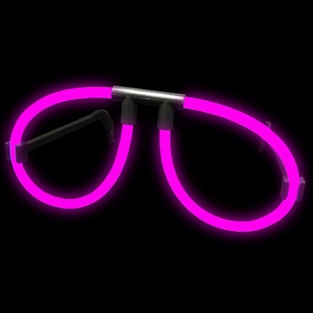 Pink Glow Glasses (Singles)